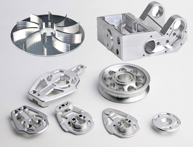 Wide variety of machined components and materials