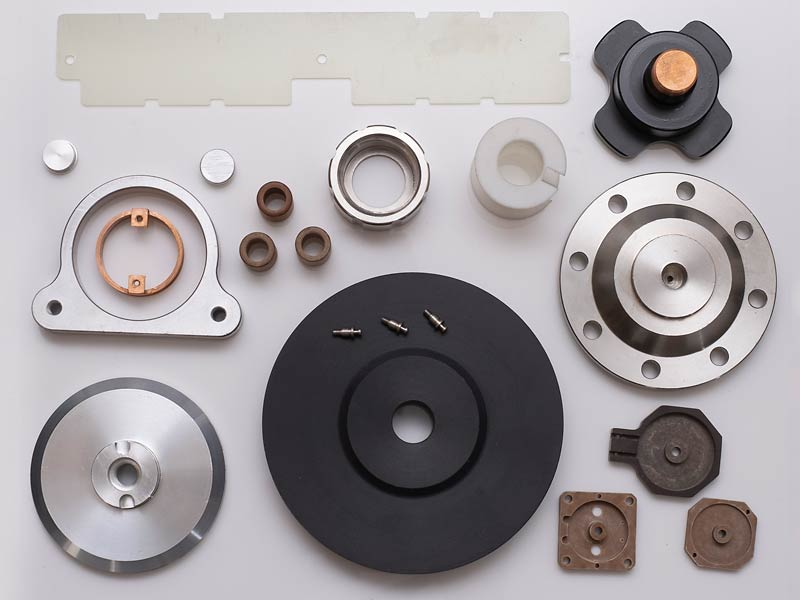 Variety of metal and plastic components
